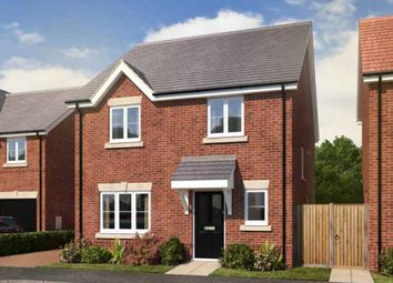 Thumbnail 4 bed detached house for sale in Baldwins Gate, Newcastle Under Lyme