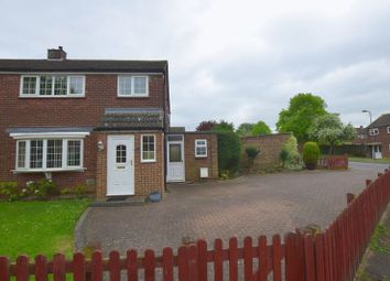 Thumbnail 3 bed semi-detached house for sale in Suffolk Close, Bletchley, Milton Keynes