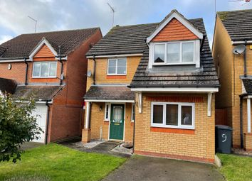 Thumbnail 3 bed detached house for sale in Villagers Close, Wootton, Northampton