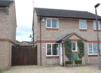 Thumbnail 2 bedroom semi-detached house for sale in Caldbeck Close, Gunthorpe, Peterborough