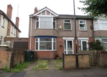 Thumbnail 3 bedroom end terrace house to rent in Loudon Avenue, Coundon, Coventry