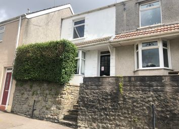 Thumbnail 2 bed terraced house for sale in Bryn Syfi Terrace, Mount Pleasant, Swansea
