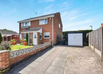 Thumbnail 2 bed semi-detached house for sale in Bramley Court, Sutton In Ashfield, Nottinghamshire, Notts