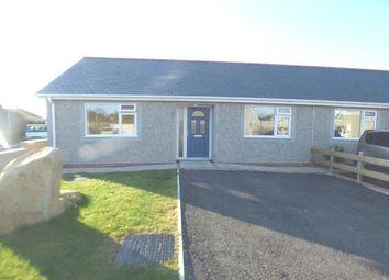 Thumbnail 2 bedroom bungalow for sale in Bro Gwystl, Y Ffor, Pwllheli, Gwynedd