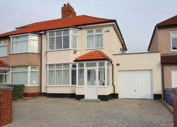 Thumbnail 3 bed semi-detached house for sale in Varley Road, Grassendale, Liverpool