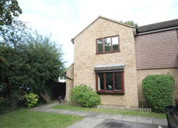 Thumbnail 1 bed end terrace house for sale in Countisbury Gardens, Addlestone, Surrey