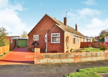 Thumbnail 2 bed semi-detached bungalow for sale in Hawthorne Avenue, Hellesdon, Norwich