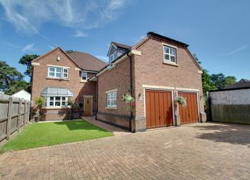 Thumbnail 5 bed detached house for sale in Glenfield Frith Drive, Glenfield, Leicester