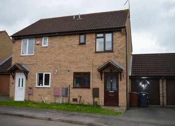 Thumbnail 2 bedroom semi-detached house to rent in Shatterstone, East Hunsbury, Northampton