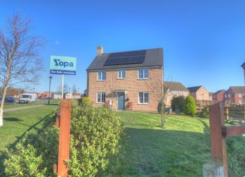 Thumbnail 4 bed detached house for sale in Warren Lane, Witham St. Hughs, Lincoln