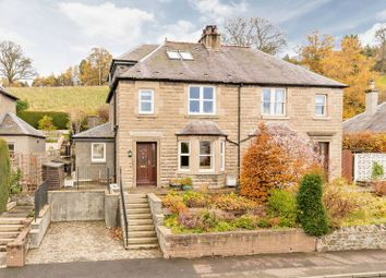Thumbnail 3 bed semi-detached house for sale in Newby, 38 Edinburgh Road, Peebles