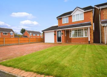Thumbnail 3 bed detached house for sale in 1Bush Close, Wellington, Telford