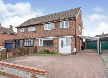 Thumbnail 3 bed semi-detached house for sale in St. Peters Road, Stowmarket