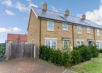 Thumbnail 3 bed end terrace house for sale in Maunder Avenue, Biggleswade