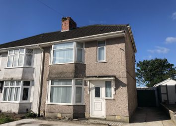 Thumbnail 3 bed semi-detached house for sale in Pentregethin Road, Gendros, Swansea, City And County Of Swansea.