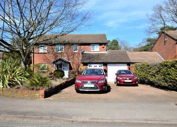 Fleet Road, Farnborough GU14. 4 bed detached house for sale