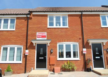 Thumbnail 2 bed terraced house for sale in Raleigh Road, Wyndham Park, Yeovil