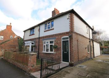 Thumbnail 2 bed semi-detached house for sale in Water End, Brompton, Northallerton