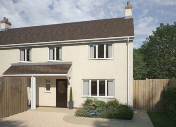 Thumbnail 4 bed semi-detached house for sale in Church Road, Long Hanborough, Witney