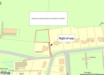 Thumbnail Land for sale in Butts Road, Chiseldon, Swindon