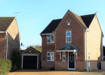 Thumbnail 3 bed detached house for sale in Blenheim Close, Skellingthorpe, Lincoln