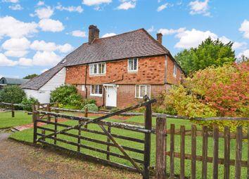 Goudhurst Road, Cranbrook TN17. 4 bed farmhouse for sale