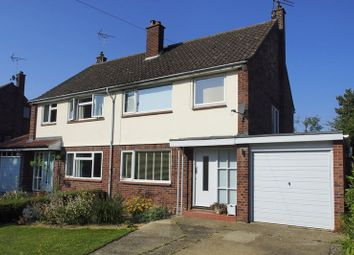 Thumbnail 3 bedroom semi-detached house for sale in Walpole Road, Halesworth