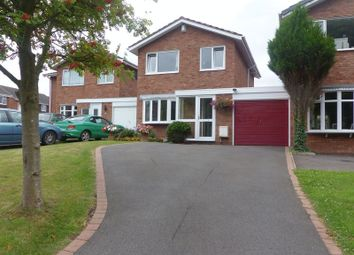 Thumbnail 3 bedroom detached house for sale in Saxon Road, Penkridge