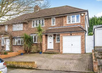 Thumbnail 4 bed semi-detached house for sale in Stuart Avenue, Hayes, Bromley