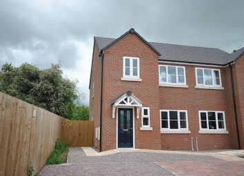 Thumbnail 3 bed semi-detached house to rent in The Sidings, Station Road, Whitchurch, Shropshire