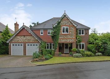 Thumbnail 5 bedroom detached house to rent in Ryelands Place, Weybridge