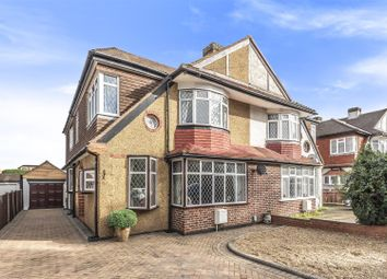 Thumbnail 4 bed semi-detached house for sale in Rutherwyke Close, Stoneleigh, Epsom