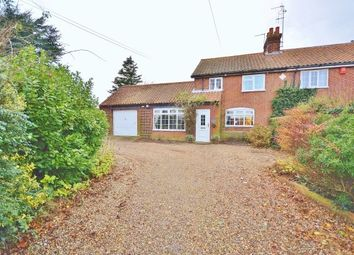 Thumbnail 3 bedroom semi-detached house to rent in The Street, Edingthorpe, North Walsham