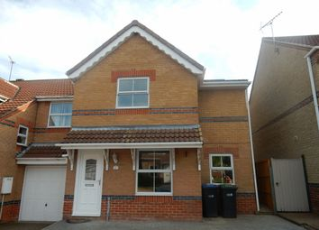 Thumbnail 3 bedroom semi-detached house for sale in Milburn Way, Howden Le Wear, Crook