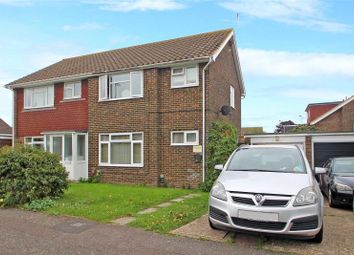 Thumbnail 3 bed semi-detached house for sale in Test Road, Sompting, West Sussex