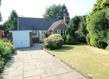 Thumbnail 4 bed detached bungalow for sale in Longsides Road, Hale Barns, Altrincham