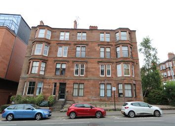 Thumbnail 1 bed flat to rent in Clarence Drive, Glasgow