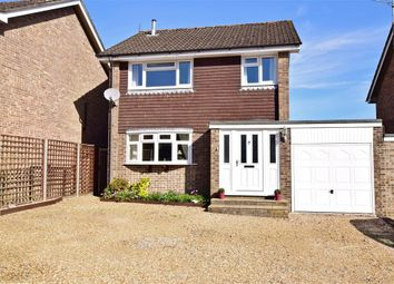 Thumbnail 3 bed link-detached house for sale in James Copse Road, Waterlooville, Hampshire