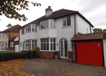 Thumbnail 3 bed semi-detached house for sale in Stanway Road, Shirley, Solihull