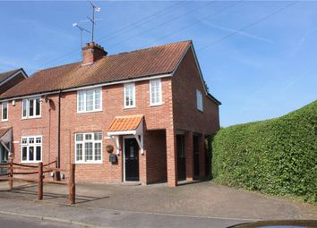 Thumbnail 3 bedroom semi-detached house for sale in Lowlands Road, Blackwater, Camberley, Surrey