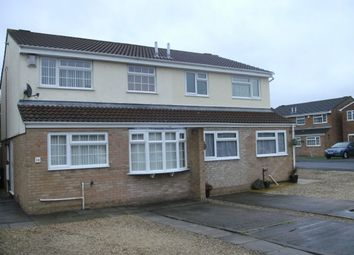 Thumbnail 3 bed semi-detached house to rent in St. Marks Court, Bridgwater