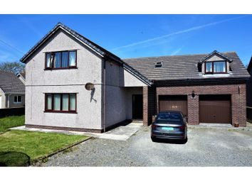 Thumbnail 4 bed detached house for sale in Lon Newydd, Amlwch