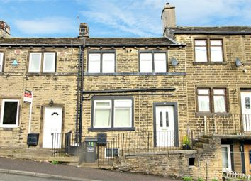 Thumbnail 2 bed terraced house for sale in Station Road, Holywell Green, Halifax, West Yorkshire