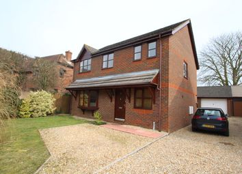Thumbnail 4 bedroom detached house to rent in Long Barrow Close, South Wonston, Winchester