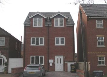 Thumbnail 1 bed flat for sale in Blackbird Road, Leicester