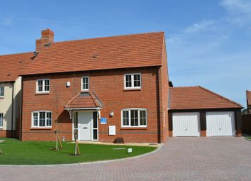 Thumbnail 4 bed detached house for sale in The Longford, Plot 20, The Portway, East Hendred