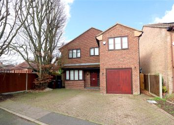 Thumbnail 4 bed detached house for sale in Stratford Way, Bricket Wood, St.Albans