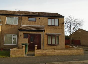 Thumbnail 3 bed end terrace house to rent in Kinsbourne Green, Dunscroft, Doncaster
