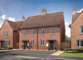 "Thumbnail 3 bedroom semi-detached house for sale in ""The Harlington"" at Kiln Drive, Stewartby, Bedford"