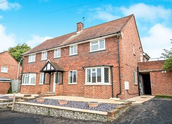 Thumbnail 4 bed semi-detached house for sale in Bowley Road, Hailsham